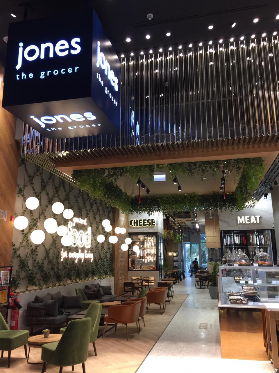 (A) Jones The Grocer